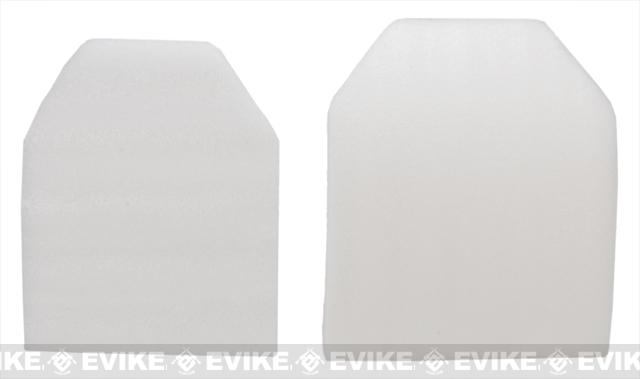 Foam Soft SAPI Plates for JPC Airsoft Plate Carriers - Set of 2 (Size: Medium)