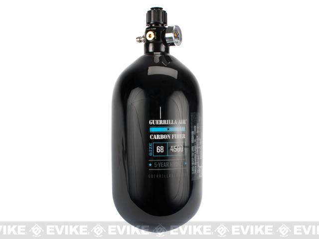Guerilla Air Myth 68/4500 HPA System Carbon Fiber Tank with 4-Port Regulator