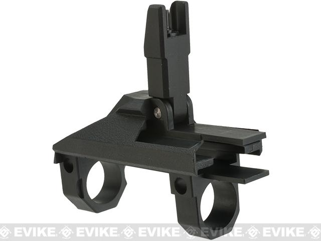 GHK G5 Replacement Gas Block and Flip-Up Front Sight