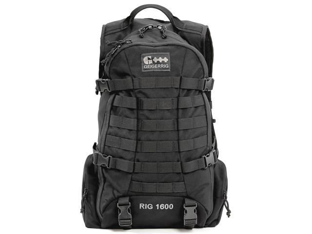 GEIGERRIG RIG1600 Tactical Hydration Pack w/ 2L Hydration Engine - Black