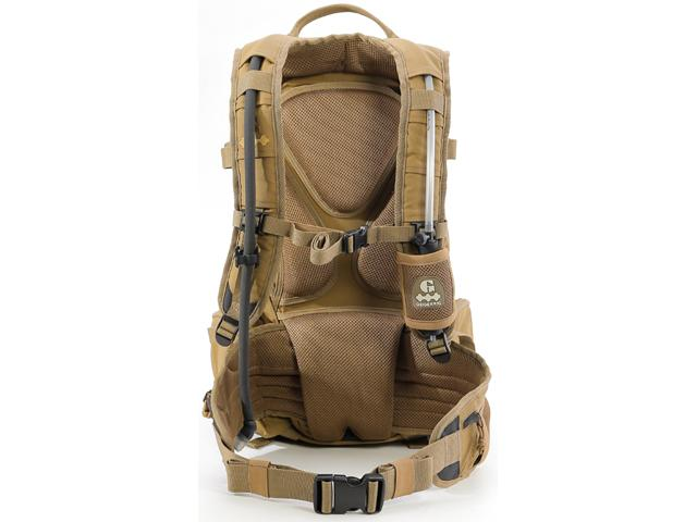 GEIGERRIG RIG1600 Tactical Hydration Pack w/ 2L Hydration Engine (Color: Coyote)