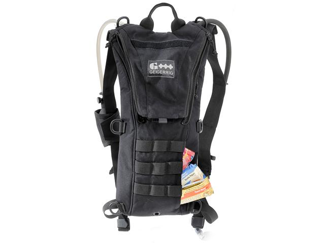 GEIGERRIG Rigger Tactical Hydration Pack  w/ 2L Hydration Engine (Color: Black)