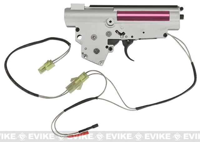 Matrix Complete Full Metal 8mm Lipo Ready Version 3 Gearbox for AK Series Airsoft AEG Rifles - Rear Wiring