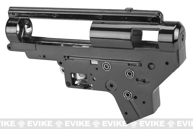 Aim Top Custom Reinforced 8mm M4/M16 Gearbox with 8mm Bearings (Color: Black)