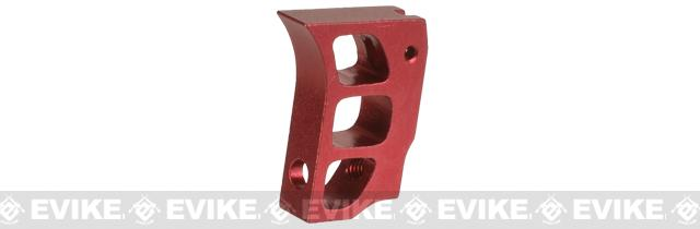 5KU Aluminum Custom Competition Trigger for Hi-Capa Series Gas Airsoft Pistols - Red