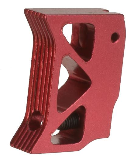 5KU Aluminum Custum Competition Trigger for Hi-Capa Series Gas Airsoft Pistols - Red