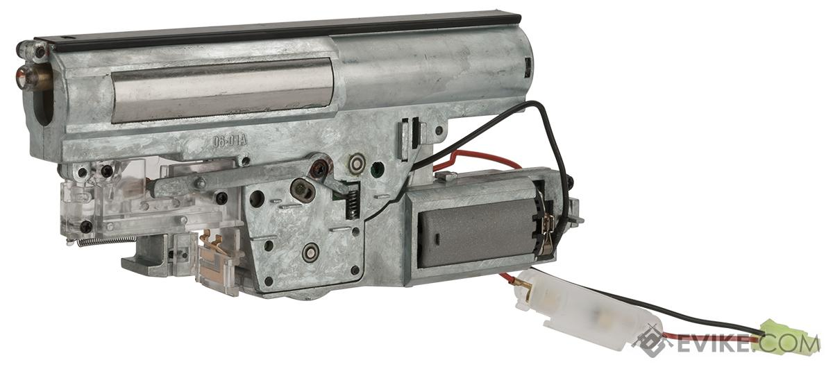Complete Reinforced Gearbox with Motor for P90 Series Airsoft AEG