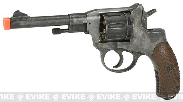 Gun Heaven  Nagant M1895 Airsoft CO2 Revolver - Weathered