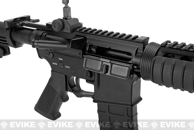 G&P WOC M4A1 Gas Blowback Airsoft Rifle with RIS Handguard - Black