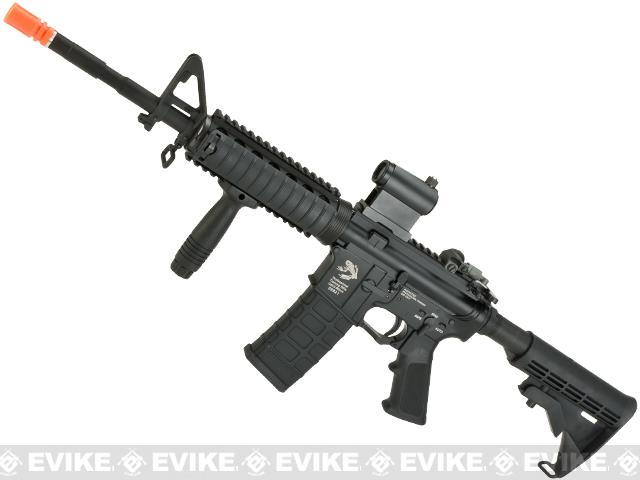 Pre-Order ETA September 2017 G&P WOC M4A1 Gas Blowback Airsoft Rifle with RIS Handguard - Black