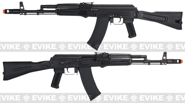 KWA Full Metal AKG-74 AK74M Airsoft Gas Blowback GBB Rifle