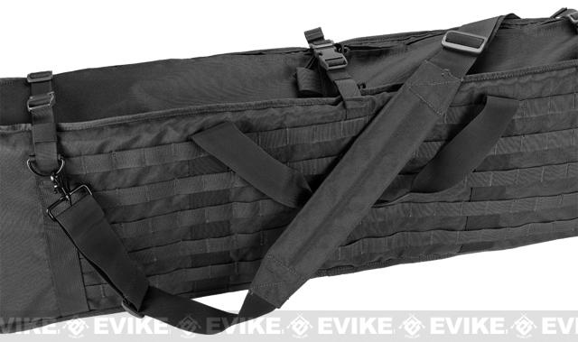 Matrix Large Machine Gun Case for M249 M60 SAW & Large Size Rifle - Black