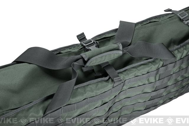 Matrix Large Machine Gun Case for M249 M60 SAW & Large Size Rifle - Foliage Green