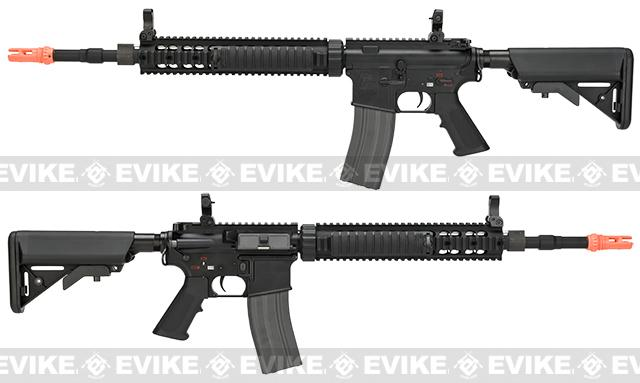 G&G Full Metal GC12 SPR / DMR Airsoft AEG Rifle - Black (Package: Gun Only)