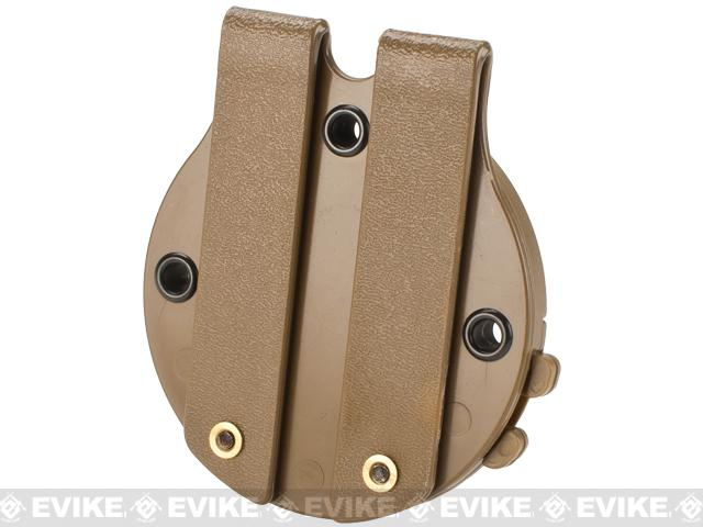 G-Code RTI Battle Belt MOLLE Holster Adaptor - Coyote Brown