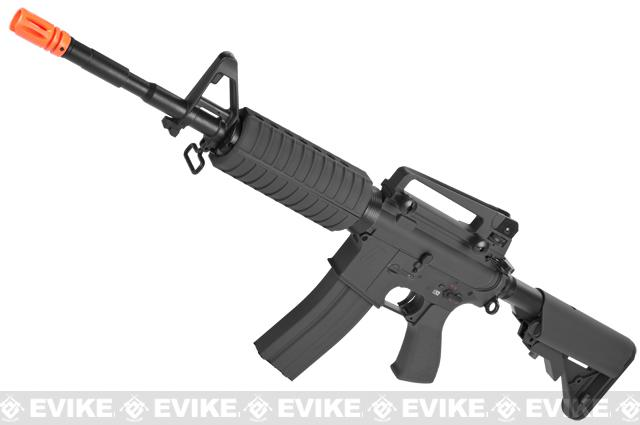 Pre-Order ETA August 2017 G&G Full Metal M4 Carbine Airsoft AEG Rifle w/ Crane Stock - Black (Package: Gun Only)