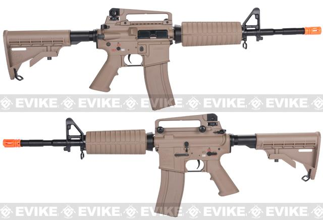 z G&G Full Metal M4 Carbine Airsoft AEG Rifle w/ LE Stock - Desert