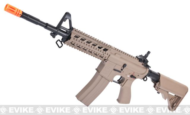 G&G Custom Full Metal M4 Commando Raider Airsoft AEG Rifle w/ Crane Stock - Desert