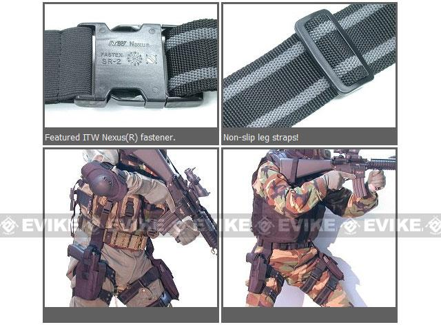 Guarder Hard Shell Fast Draw Tactical Holster - Digital Woodland Marpat
