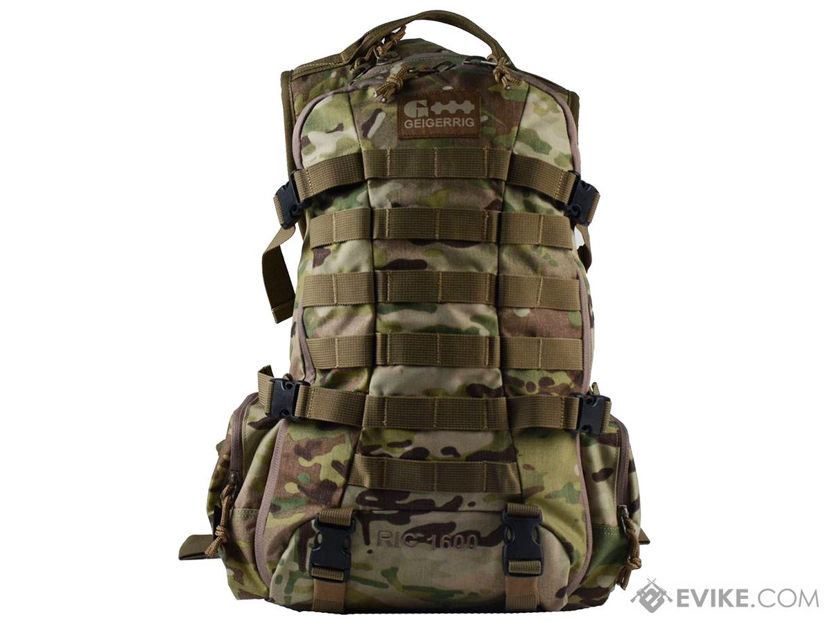 GEIGERRIG RIG1600 Tactical Hydration Pack w/ 2L Hydration Engine - Multicam