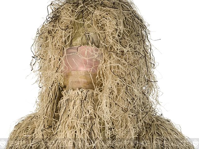 Matrix Full Body 3-Piece Concealment Ghillie Suit Set - Desert