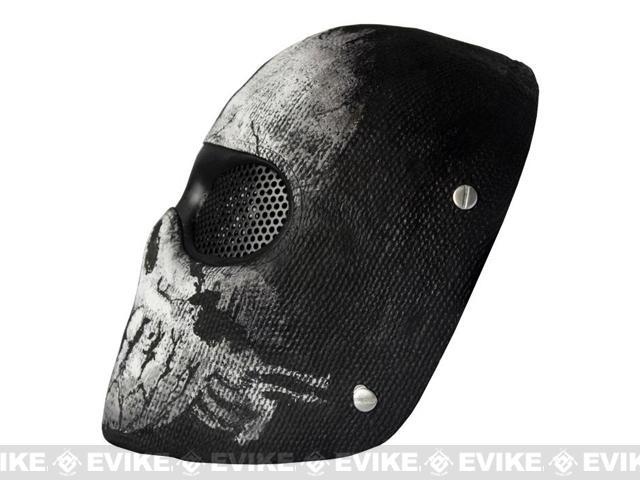 Evike.com R-Custom Fiberglass Wire Mesh Ghost Alpha Mask