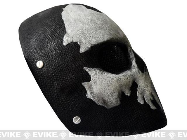 Evike.com R-Custom Fiberglass Wire Mesh Ghost Bravo Mask