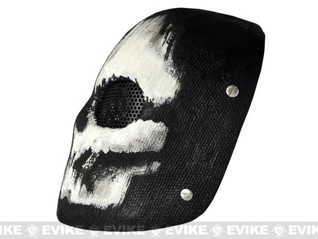 Evike.com R-Custom Fiberglass Wire Mesh Ghost Charlie Mask