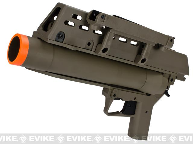 AG36 Grenade Launcher for G36 Airsoft AEG - Dark Earth