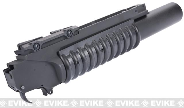 G&P Type Quick Lock QD Airsoft M203 Grenade Launcher - Long