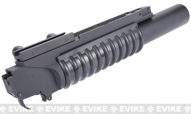 z G&P QD M203 Grenade Launcher for Airsoft Rifles with Rail Systems - Long
