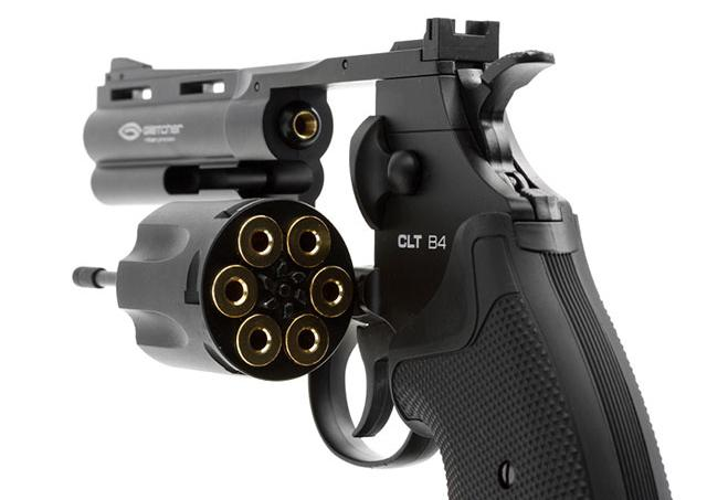 Gletcher CLT B25 Airgun Revolver (.177 cal NOT AIRSOFT) BB Pistol - 2.5 Barrel