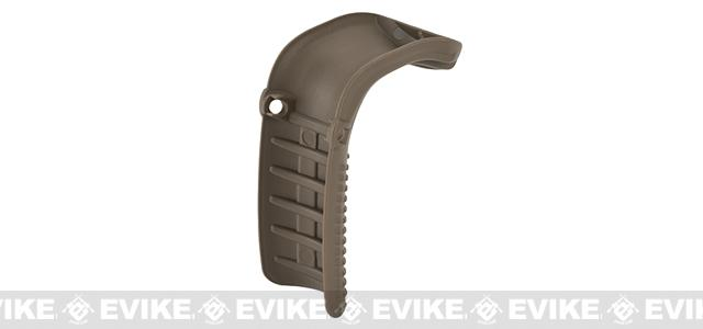 Guarder Beaver Tail Grip Extension for WE / TM / KJW G-Series Gen 4 Airsoft GBB Pistols - Tan