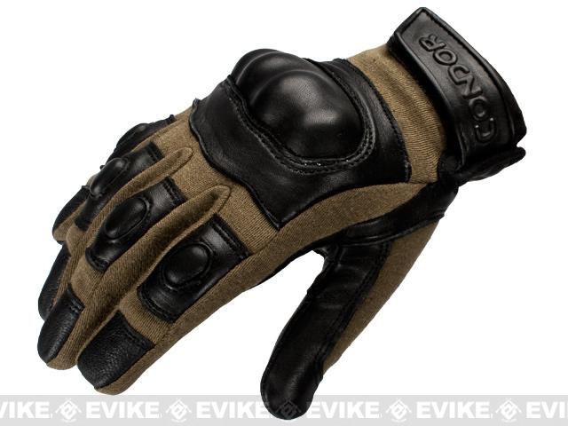 Condor Syncro Tactical Gloves - Coyote Tan (Size: Small)