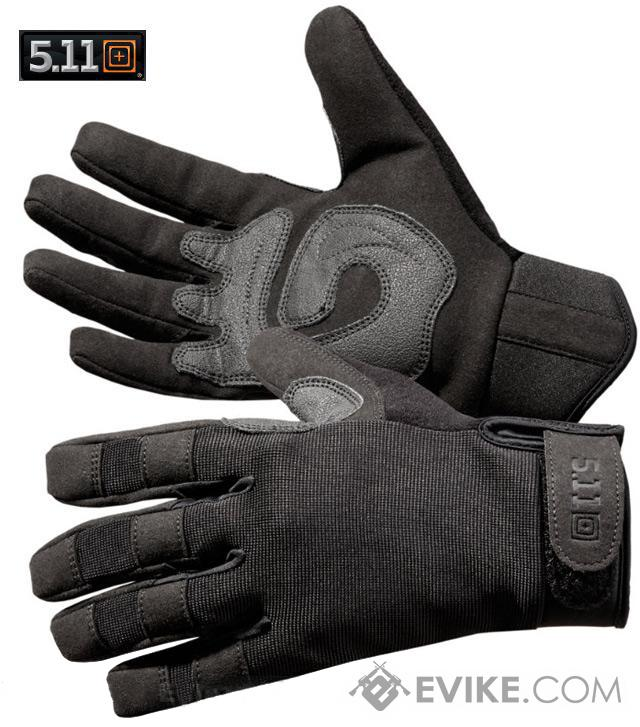 5.11 Tactical TAC A2 Gloves - Black (Size: Medium)