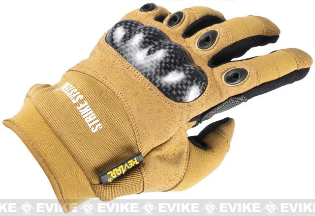ASG STRIKE Systems Tactical Assault Gloves - Desert (Size: X-Large)