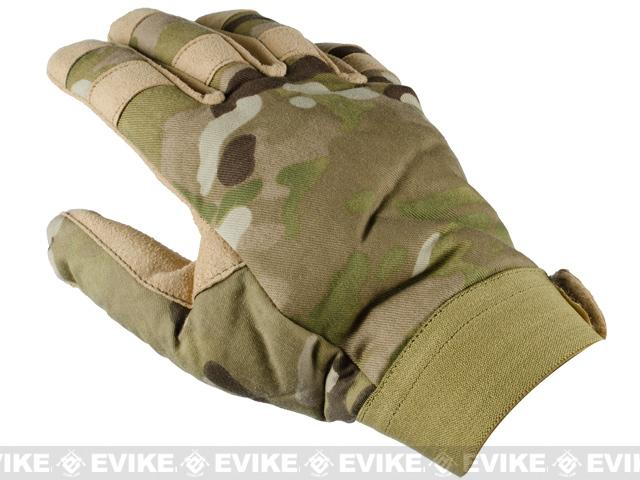Special Force Cold Weather Shooter's Tactical Gloves - Land Camo / Small