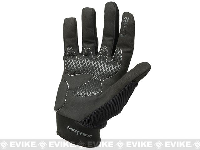 Matrix Sierra Hostile Action  Tactical Combat Gloves by Valken - Black (Size: Small)