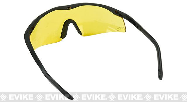 TTD No Fog Tactical Military Spec Ballistic Shooting Glasses - Yellow