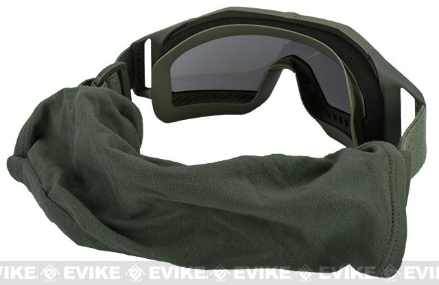 Revision Special Edition Wolfspider Goggles Deluxe (two spare lens) - Olive Green
