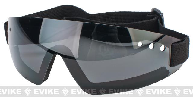 XPower Antifog Polycarbonate Safety Shooting Goggle with UV Protection (Smoke Lens)