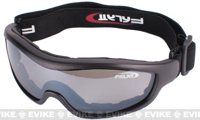 Hero Arms Clear Zone Tactical UV 400 Hi-Flow Shooting Goggles - Smoke