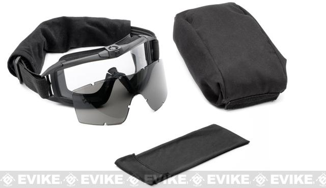 Pre-Order ETA January 2017 Revision Desert Locust Fan Tactical Goggles - Essential Kit (Black)