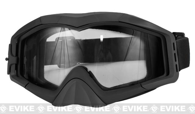 Avengers Tactical Airsoft Gaming Extreme Sports Goggles - Black