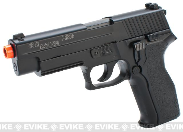 SIG Sauer P226 E2 Airsoft Gas Blowback Pistol by KJW