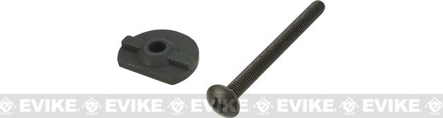 G&P Buffer Tube Screw and Screw Plate for M4 / M16 Series Airsoft AEGs
