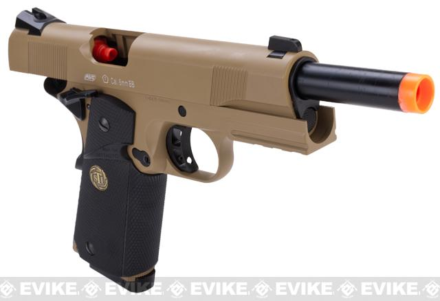 ASG STI Tac Master 1911 Airsoft GBB Pistol - Desert