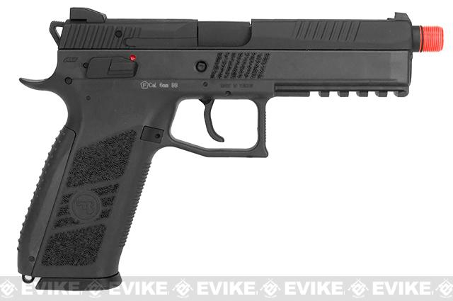 ASG CZ P-09 Suppressor Ready CO2 Airsoft GBB Pistol - Black