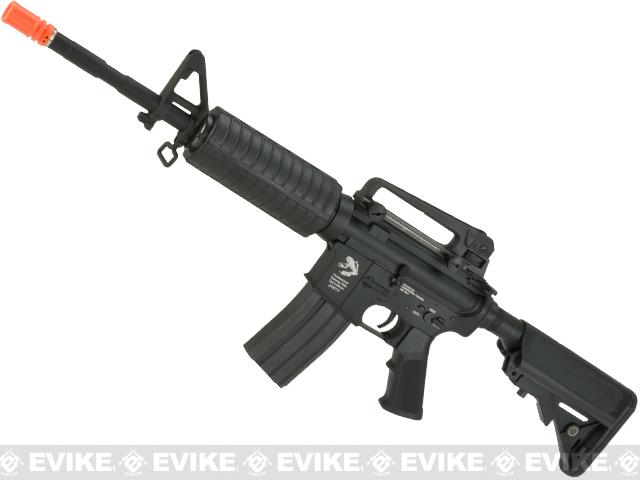 z G&P Limited Edition Navy Seal Skull Frog Custom M4 Carbine Advanced Full Metal Airsoft AEG Rifle