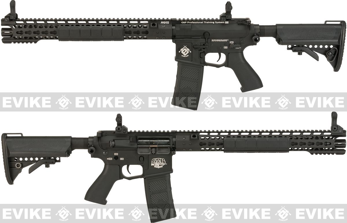 G&P Wire Cutter 16 Keymod M4 Carbine Airsoft AEG Rifle - Black (Package: Gun Only)